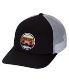 Hurley  RETRO SET TRUCKER HAT 棒球帽-黑(男)