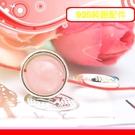 銀鏡DIY S925純銀材料配件/亮面水晶轉運輪圓珠框11mm~適合手作蠶絲蠟線/衝浪繩(非白鋼)