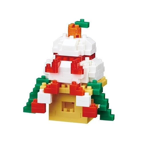 《 Nano Block迷你積木 》NBC-286 鏡餅╭★ JOYBUS玩具百貨