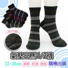 【潮客】斑馬氣墊襪1/ 2款 機能襪 除臭襪 休閒襪 台灣製