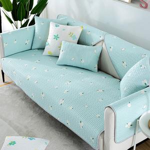 【新作部屋】冰絲乳膠涼感沙發墊-單人(多款顏色可挑選)木荷與貓/單人坐墊