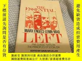 二手書博民逛書店The罕見Essential Left: Marx, Engel