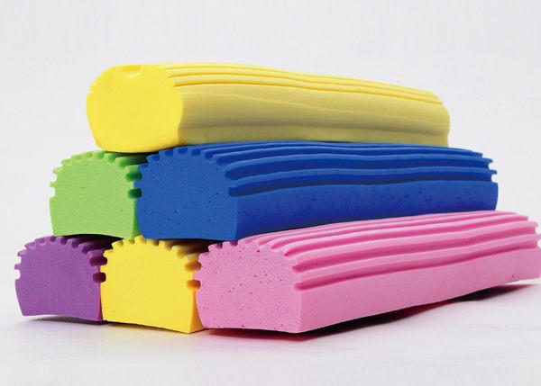 ♚MY COLOR♚對折式海棉拖把頭 替換 強力 吸水 通用 螺絲 膠綿 居家 打掃 磁磚 拖地【W58】