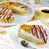 經典派─咖啡口味_永恆之光 7吋 愛家純素素糕 素食起司派 全素點心 慶祝蛋糕 VEGAN