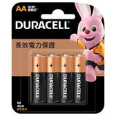 【永昌文具】DURACELL 金頂 鹼性 3號 電池 4顆入 /卡裝