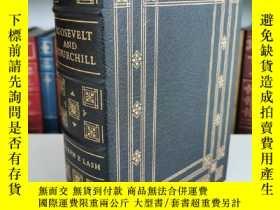 二手書博民逛書店roosevelt罕見and churchill the partership that saved the we