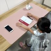 鼠標墊超大筆記本電腦桌墊辦公加厚防水皮學生鍵盤書桌寫字墊-ifashion
