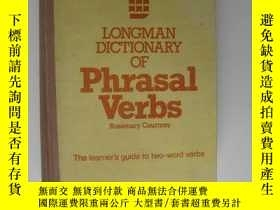 二手書博民逛書店Longman罕見Dictionary of Phrasal V