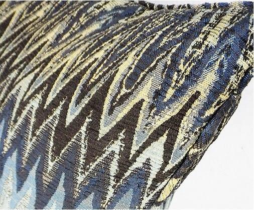 [協貿國際]北歐極簡/樣板房/靠包抱枕/大波紋圖案提花腰枕