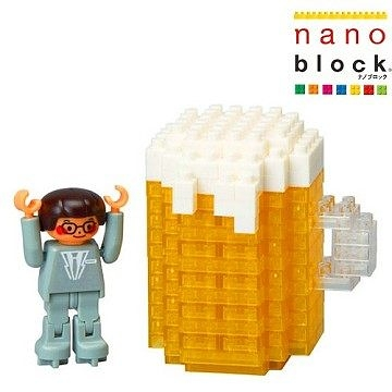 【日本 Kawada 河田】Nanoblock 迷你積木 上班族的啤酒派對 ML-033