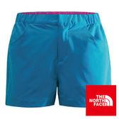 The North Face 女 SCafe短褲 地球藍 CZR4