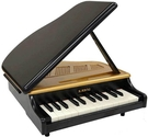 Kawai【日本代購】河合 迷你三角鋼琴 25鍵 日本製1191-黑色