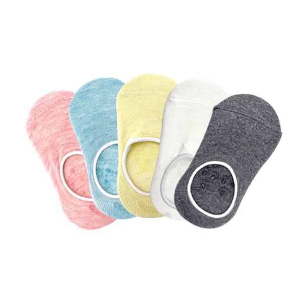 童襪 嬰兒地板襪子精梳棉淺口純色隱形襪船襪-JoyBaby