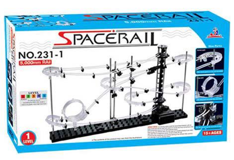 Spacerail曲速引擎/瘋狂雲霄飛車 等級1 機械骨架及鋼珠之間的急速快感