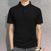 短袖Polo衫短袖T恤男士2020夏季新款商務休閒POLO衫潮流寬鬆半袖體恤上衣服