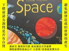二手書博民逛書店Look罕見inside spaceY12530 Rob Lloyd Jones . Usborne .