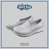 2016 PONY TROPIC 童鞋 輕量化 水鞋 軟Q 防水 懶人鞋 兒童涼鞋 洞洞鞋 淺灰 62K1SA61SY☆SP☆