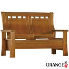 【采桔家居】美沙蒂 典雅風實木二人座沙發椅