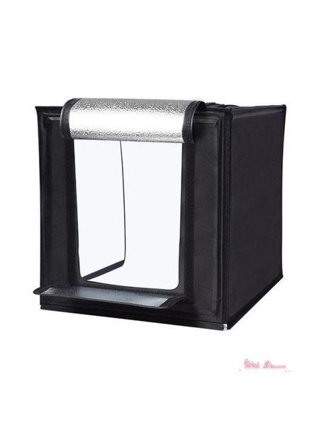 攝影棚 60cm大號攝影棚小型攝影拍照燈箱折疊套裝柔光背景箱簡易產品拍攝台道具