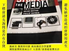 二手書博民逛書店studying罕見the media【third editio