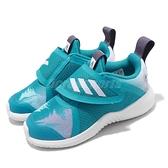 adidas 慢跑鞋 FortaRun X Frozen CF I 白 藍 童鞋 小童鞋 冰雪奇緣 Elsa 運動鞋 【ACS】 EF9747