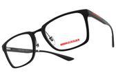 PRADA 光學眼鏡 VPS06L DG0-1O1 (黑) 方框款 #金橘眼鏡