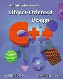 二手書博民逛書店 《An Introduction to Object-oriented Design in C++》 R2Y ISBN:0201765640│Addison-Wesley