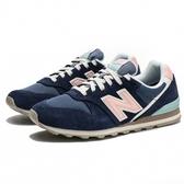 NEW BALANCE NB 996 深藍 粉紅 麂皮 復古休閒鞋 運動 女 (布魯克林) WL996COJ