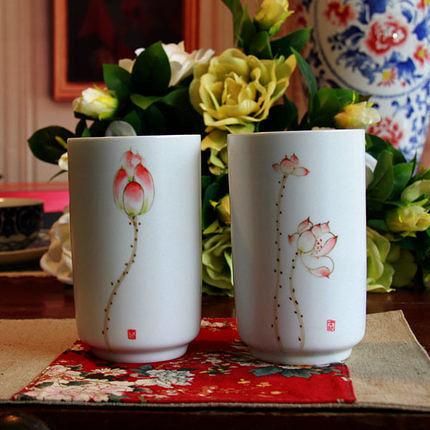 水杯/家用茶杯(四件套)350ml