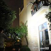 太陽能燈 戶外草坪燈庭院燈花園別墅射燈防水超亮投光燈家用路燈 df12425【Sweet家居】