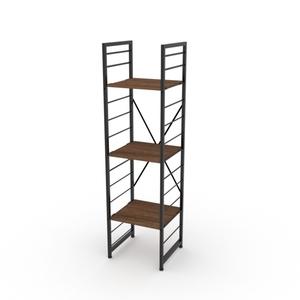 組 - 特力屋萊特 組合式層架 黑框/深木紋色 40x40x158cm