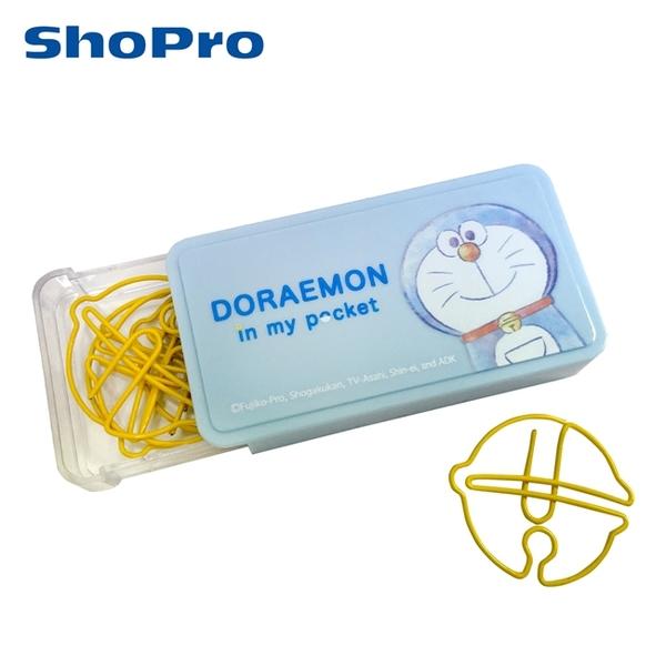 【日本正版】哆啦A夢 造型迴紋針 迴紋針 事務用品 小叮噹 DORAEMON - 417737