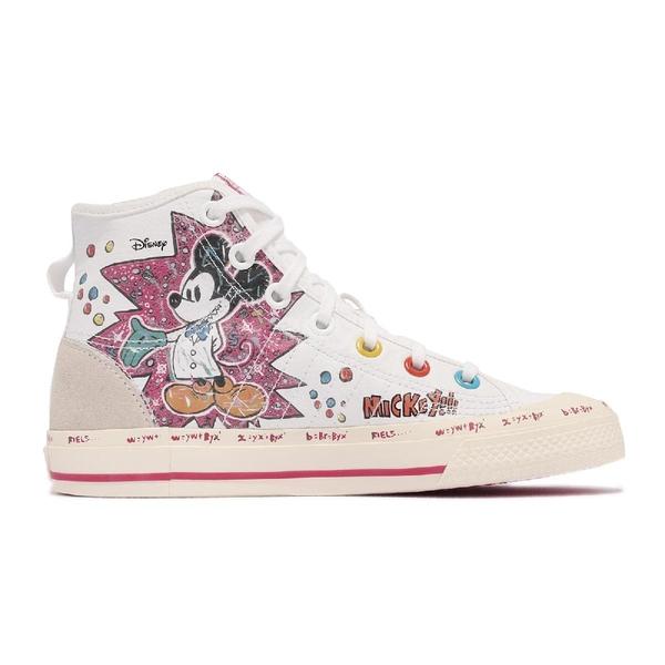 adidas 休閒鞋 Nizza Hi RF 聯名 迪士尼 米奇 手繪塗鴉 男鞋 女鞋 愛迪達 限量款 【ACS】 GZ8838
