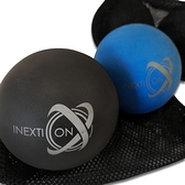 【INEXTION】Therapy Balls 筋膜按摩療癒球(2入) - 藍+黑 台灣製