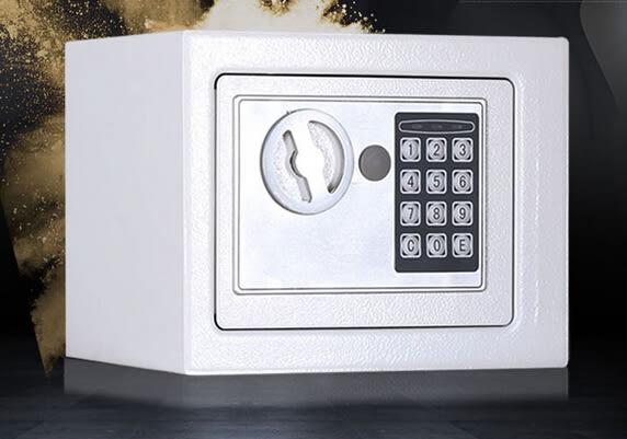 保險箱電子密碼帶鎖紙幣存錢罐成人儲蓄罐TW免運直出 交換禮物