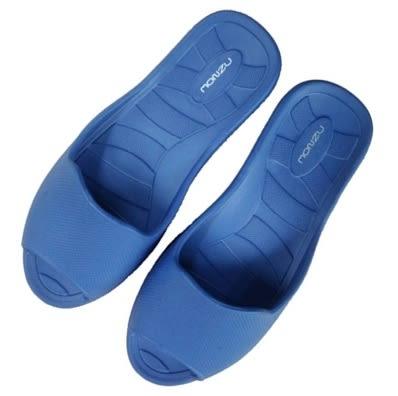 〝任選3雙只要499元〞MONZU 滿足3S零著感室內拖鞋(寶藍)-L