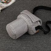 攝影包 簡約豬頭包佳能單反相機包攝影包77D 800D 700D尼康 D3200內膽包 城市科技