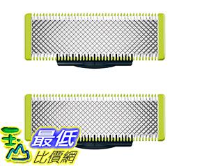 [106美國直購] 替換刀片 Philips Norelco OneBlade Replacement Blade 2 Count  QP220/80 _ff12