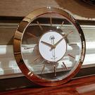 康巴絲透明歐式鐘錶掛鐘客廳現代創意掛錶圓形靜音電波時鐘  SSJJG【時尚家居館】