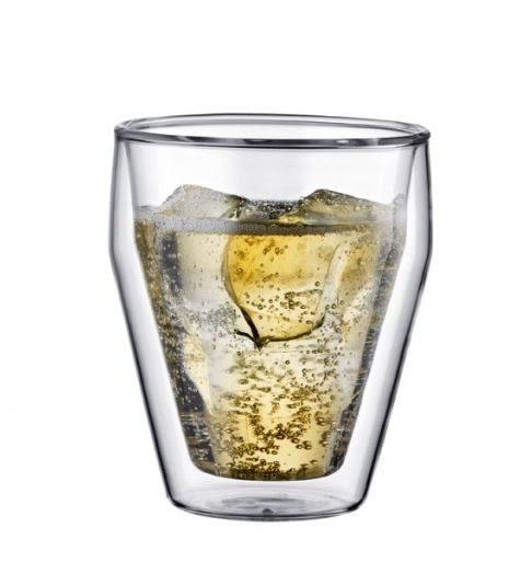 Bodum TITLIS雙層玻璃杯250CC-2入