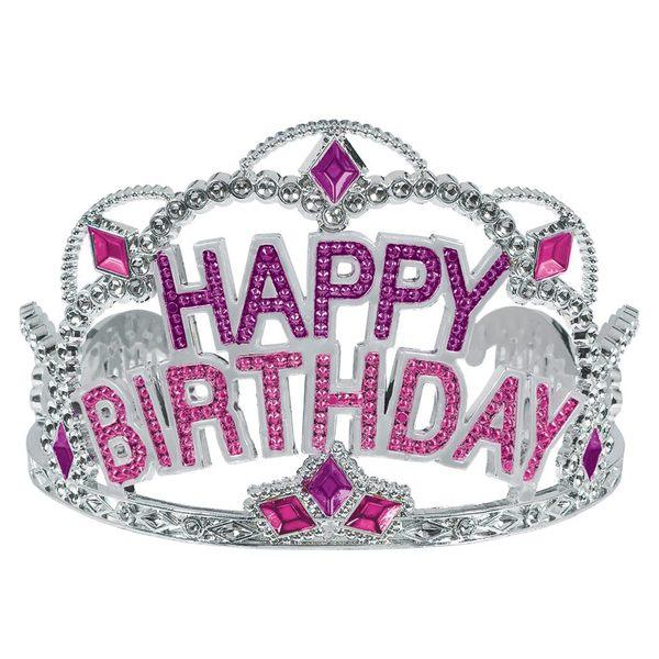 塑膠皇冠-生日快樂