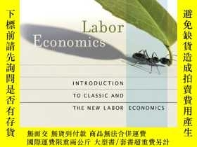 二手書博民逛書店Labor罕見Economics: Introduction t