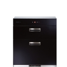 (無安裝)櫻花落地式全平面玻璃觸控68cm(與Q7693同款)烘碗機B黑Q-7693-X