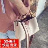 現貨五折 包包女韓版女包潮時尚百搭手提包單肩斜背包/側背包大包包潮 6-28