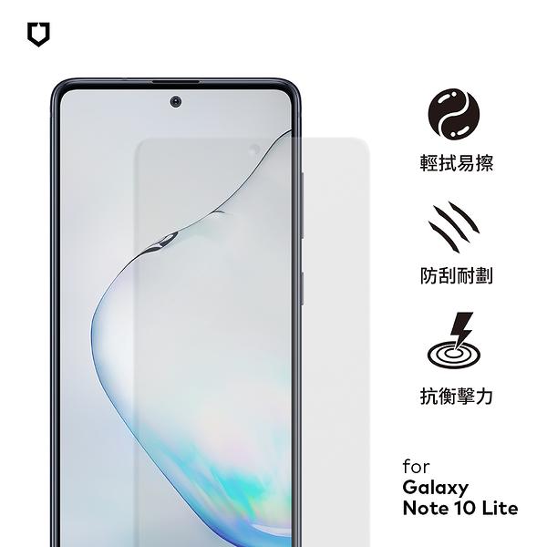 犀牛盾非滿版耐衝擊手機保護貼 - Samsung Galaxy Note 10 Lite - 正面