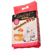 【寵物王國】新寵愛-水蜜桃環保豆腐貓砂(真空包)6L 【單包可超取】