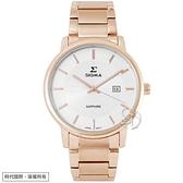 【台南 時代鐘錶 SIGMA】簡約時尚 藍寶石鏡面時尚腕錶 1122M-R2 白/玫瑰金 39mm 平價實惠的好選擇