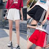 韓國女裝 百搭系毛邊前短後長牛仔高腰短褲【C0256】  韓妞必備 阿華有事嗎