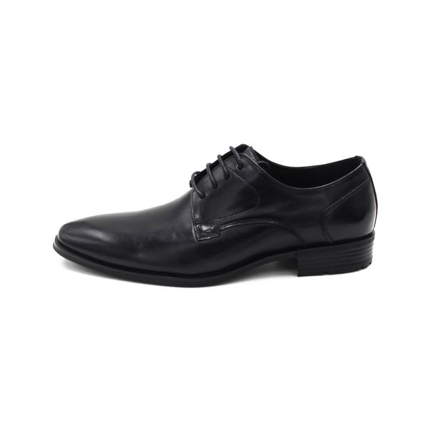 W&M(男)氣墊感 素面綁帶皮鞋 男鞋-黑(另有棕)