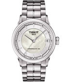 TISSOT 天梭 T-Classic Luxury 珍珠貝機械手錶 T0862071111100